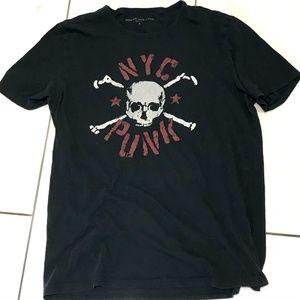 JOHN VARVATOS  NYC Punk Black T-Shirt
